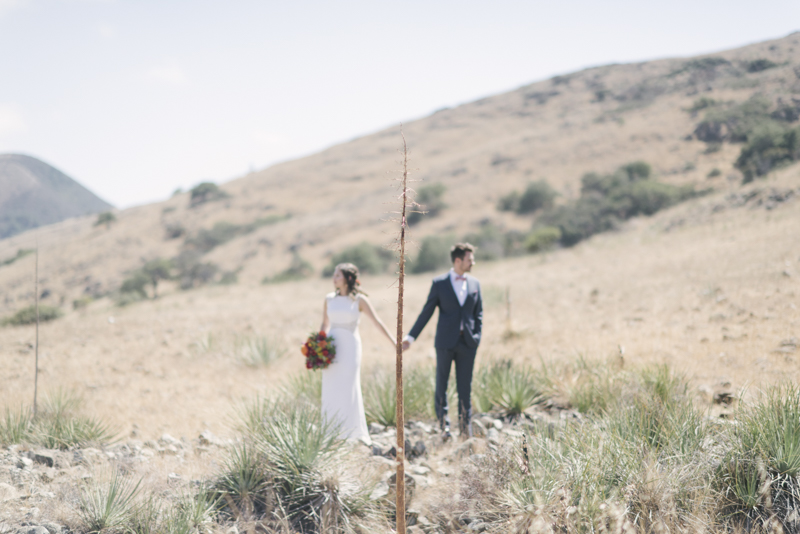 wedding at La Cuesta Ranch