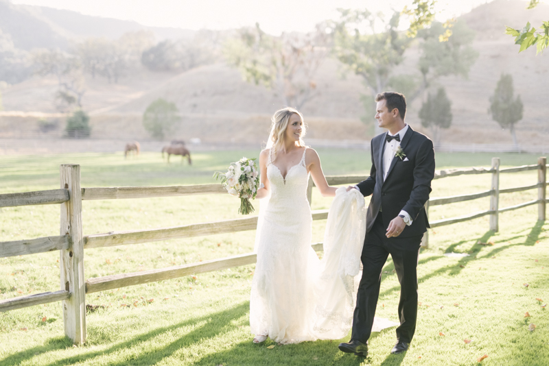 wedding at alisal ranch and resort
